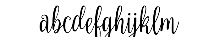 Nouradilla Font LOWERCASE