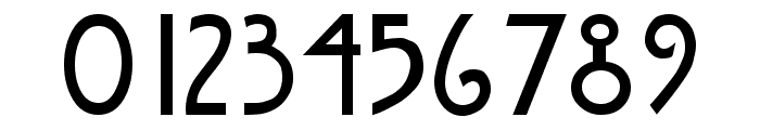 Nouveau Regular Font OTHER CHARS