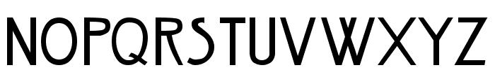 Nouveau Regular Font UPPERCASE