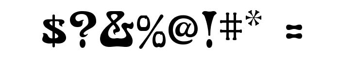 NouveauFLF Font OTHER CHARS