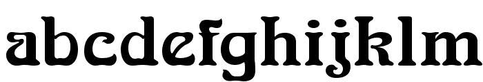 NouveauFLF Font LOWERCASE