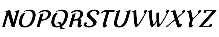 Nova Classic Bold Italic Font UPPERCASE