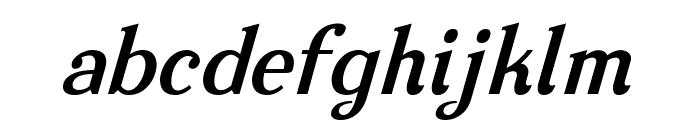 Nova Classic Bold Italic Font LOWERCASE