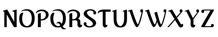 Nova Classic Bold Font UPPERCASE