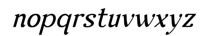 Nova Classic Italic Font LOWERCASE