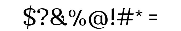Nova Classic Regular Font OTHER CHARS