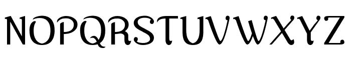 Nova Classic Regular Font UPPERCASE