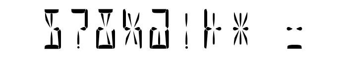 Nova Display Regular Font OTHER CHARS
