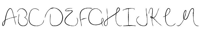 Nova Hearts Font UPPERCASE