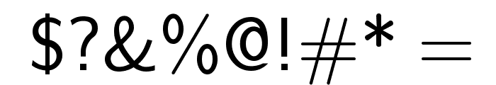 Nova Regular Font OTHER CHARS