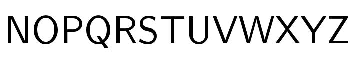 Nova Regular Font UPPERCASE