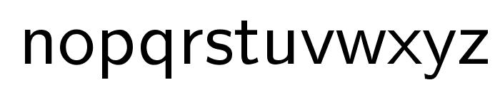 Nova Regular Font LOWERCASE