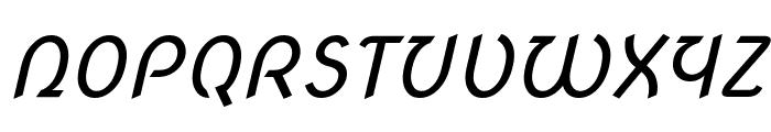 Nova Script Font UPPERCASE