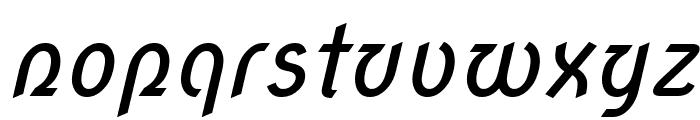 Nova Script Font LOWERCASE