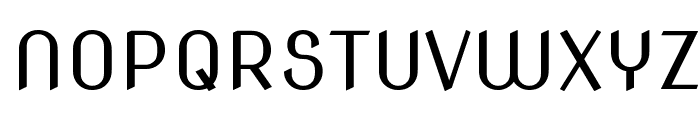 Nova Slim Font UPPERCASE