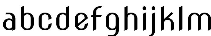 Nova Slim Font LOWERCASE