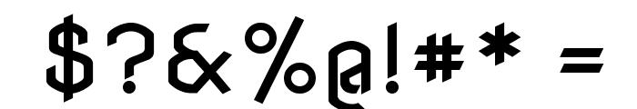 NovaFlat Font OTHER CHARS