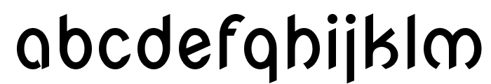 NovaOval Font LOWERCASE