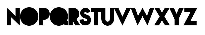 NovaSOLIDSOLID Font UPPERCASE