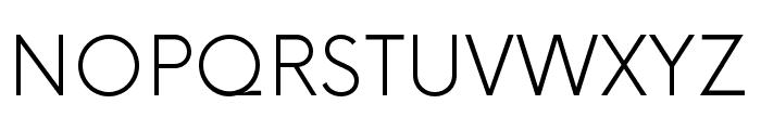 Now-Light Font UPPERCASE