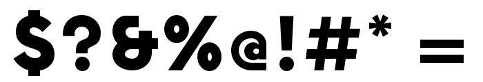 NowAlt-Black Font OTHER CHARS