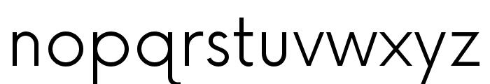 NowAlt-Light Font LOWERCASE