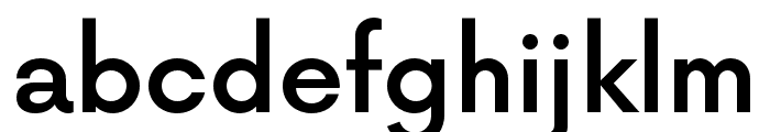 NowAlt-Medium Font LOWERCASE