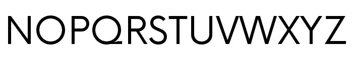 NowAlt-Regular Font UPPERCASE
