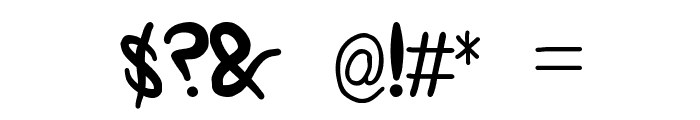 nopra Font OTHER CHARS