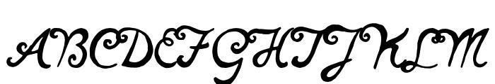 notperfectregular Font UPPERCASE