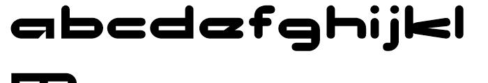No Clocks Regular Font LOWERCASE