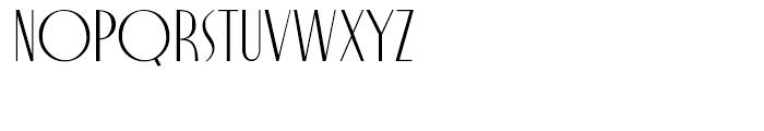 Nocturne Regular Font UPPERCASE
