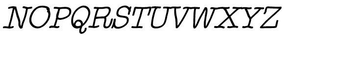 Noodlerz Italic Font UPPERCASE