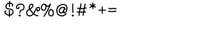 Noodlerz Regular Font OTHER CHARS