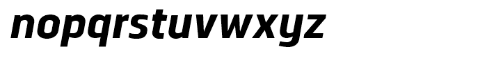 Norpeth ExtraBold Italic Font LOWERCASE
