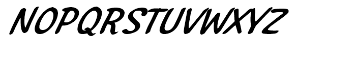 Northport Medium Italic Font UPPERCASE