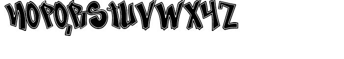 Nosegrind Regular Font UPPERCASE