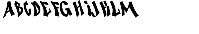 Nosegrind Regular Font LOWERCASE