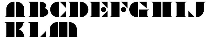 Novadam Obese NF Regular Font UPPERCASE
