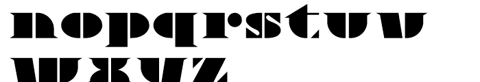 Novadam Obese NF Regular Font LOWERCASE
