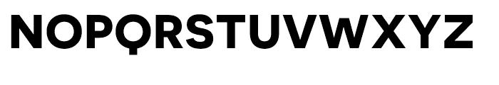 Novecento Sans Wide Bold Font UPPERCASE
