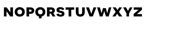 Novecento Sans Wide Bold Font LOWERCASE