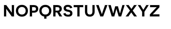 Novecento Sans Wide DemiBold Font UPPERCASE