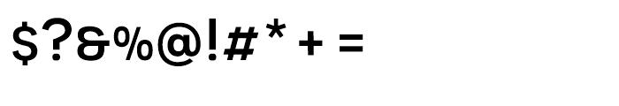 Novecento Sans Wide Medium Font OTHER CHARS