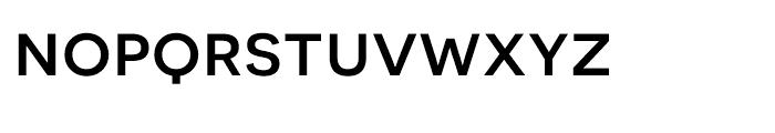 Novecento Sans Wide Medium Font LOWERCASE
