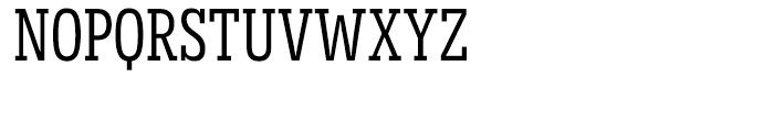 Novecento Slab Condensed Normal Font UPPERCASE