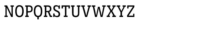 Novecento Slab Narrow Normal Font LOWERCASE