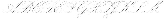Novia Light Font UPPERCASE