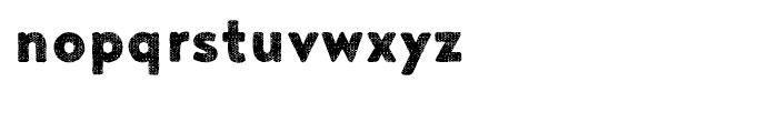 Noyh A Bistro Sack Font LOWERCASE
