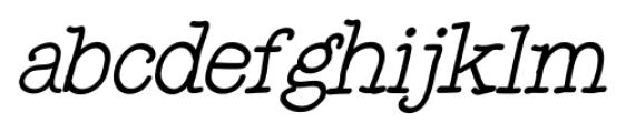 Noodlerz Italic Font LOWERCASE
